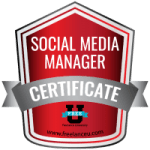 Social Media Manager Certification Badge